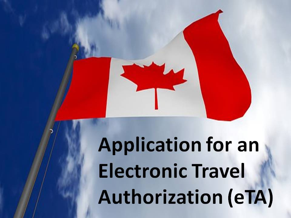 eTA Electronic Travel Authorization