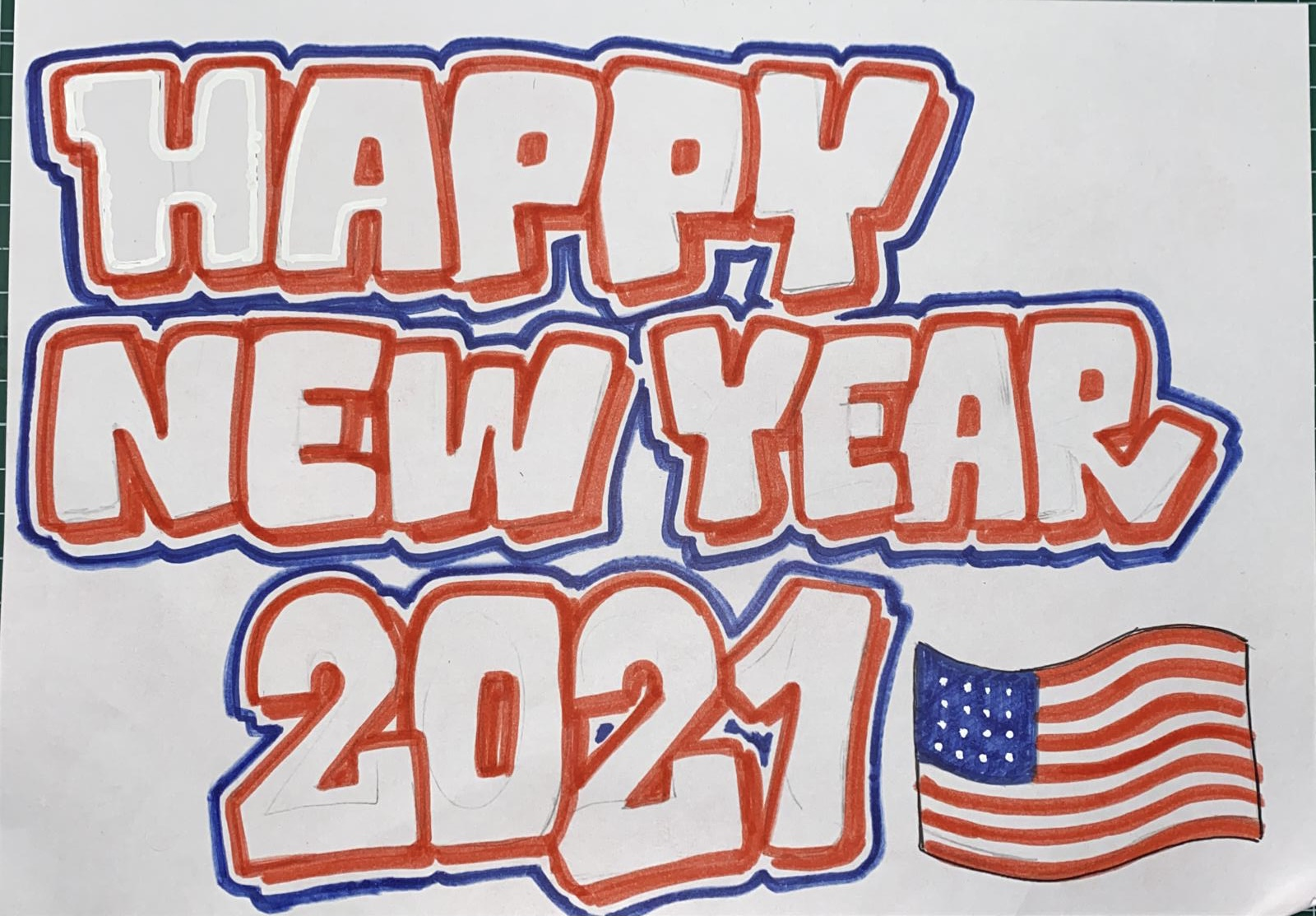HAPPY NEW YEAR!! 2021