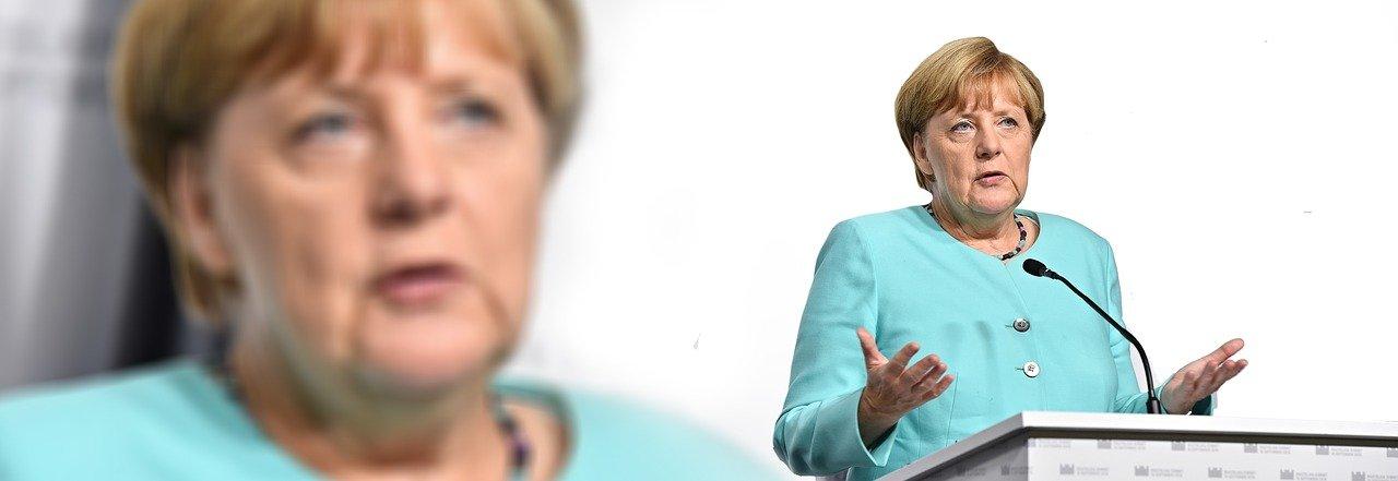 Merkel presiona a Estados Unidos para reabrir la frontera